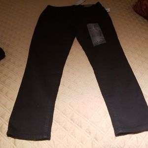 1822 DENIM stretch Black jeans